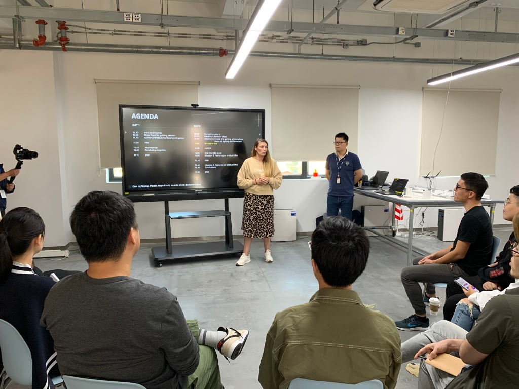 IKEA and ROG workshop with professional gamers and gaming lovers in Shanghai