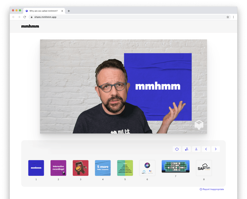 Phil Libin explaining why the company is called mmhmm. All Turtles