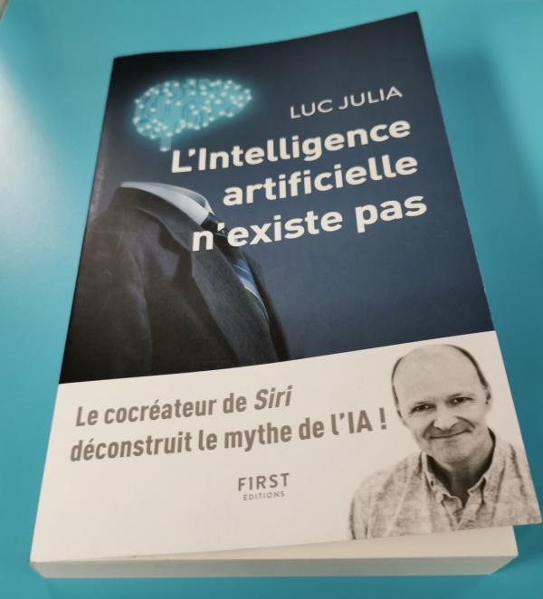 There is no such thing as Artificial Intelligence by Luc Julia